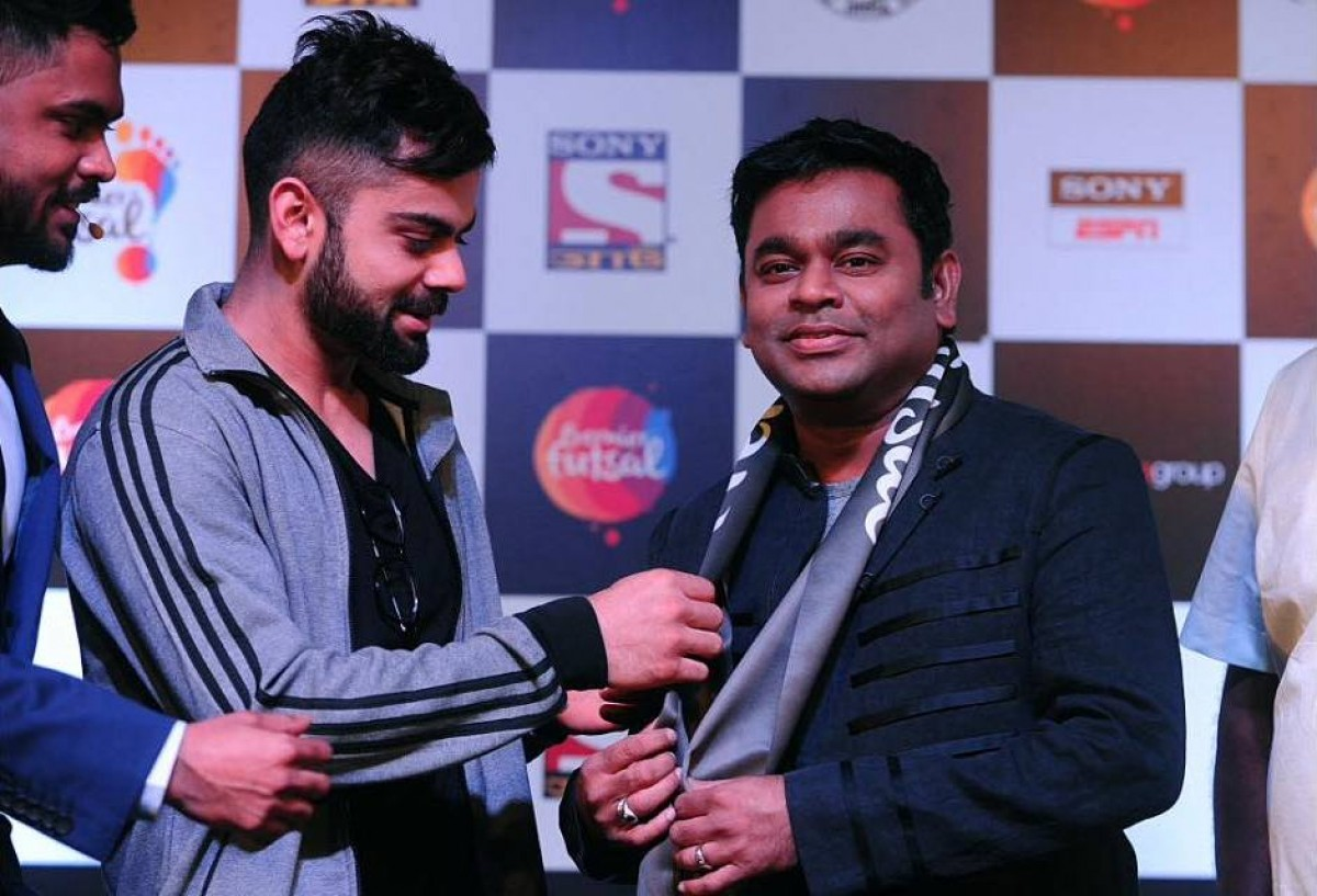 A R Rahman will compose the official anthem for Premier Futsal football league