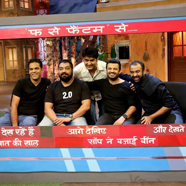 The Raman Raghav 2.0 team on The Kapil Sharma Show