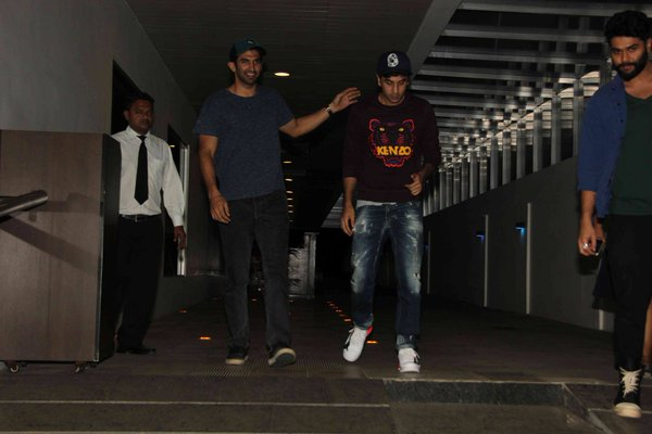 Ranbir Kapoor, Aditya Roy Kapur and Kunal Rawal Spotted Outside Hakkasan