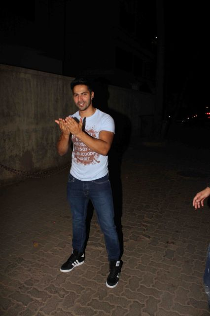 Ranbir Kapoor, Athiya Shetty, Parineeti Chopra & other Celebs attend Varun Dhawans birthday Party