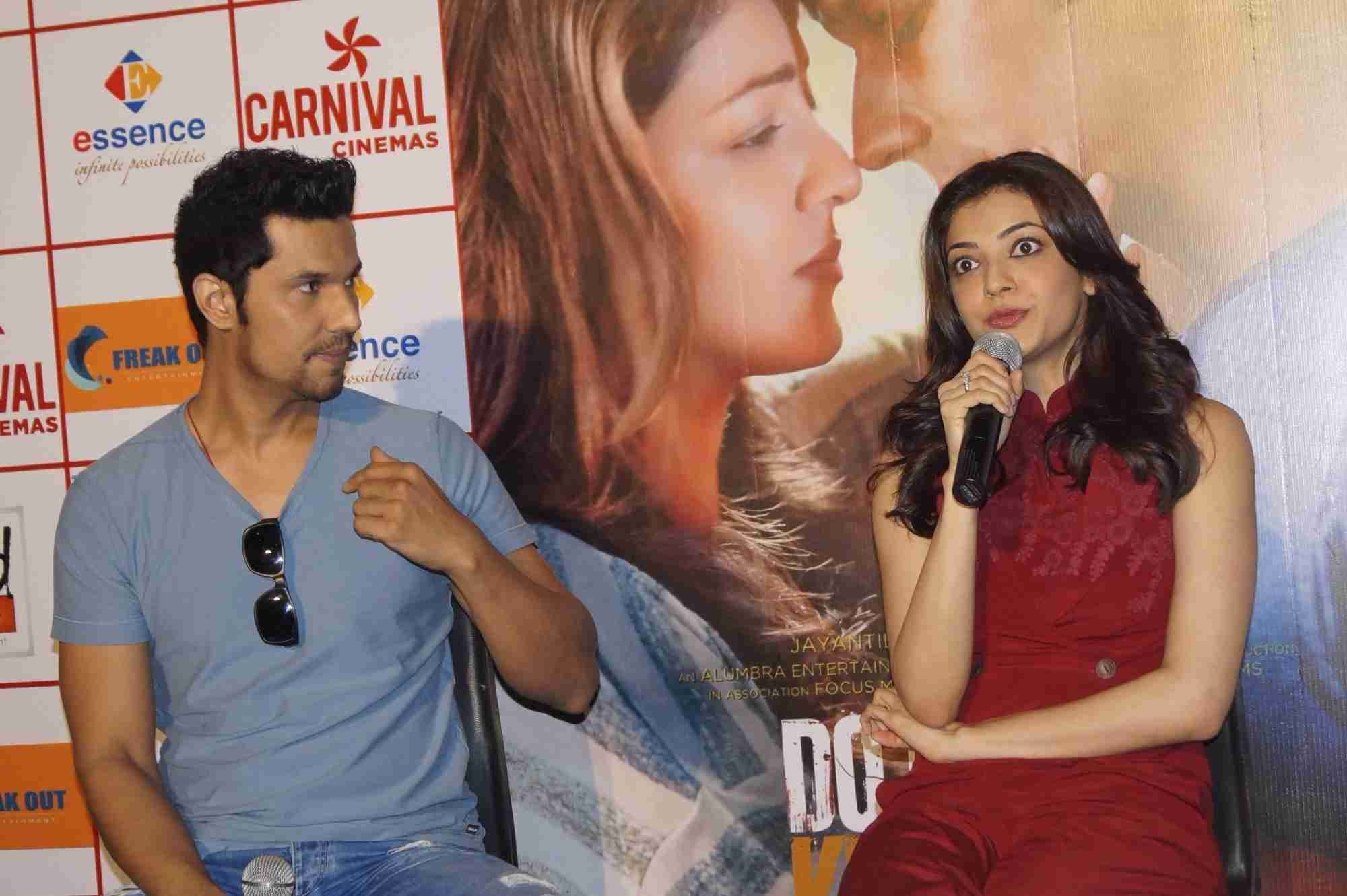 Randeep and Kajal Promoted Do Lafzon Ki Kahani in New Delhi