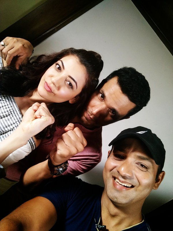 Randeep Hooda and Kajal Aggarwal Promoted DLKK at Talking Films Office