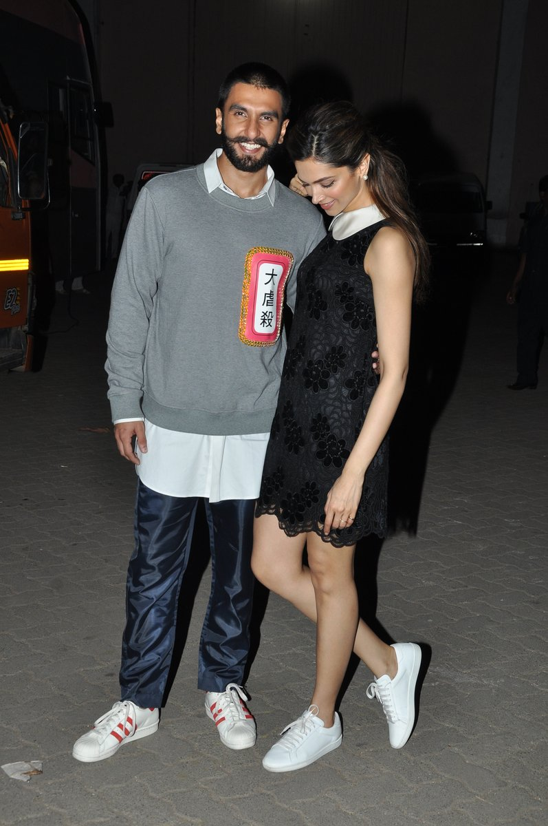 Ranveer and Deepika Promote Bajirao Mastani Movie
