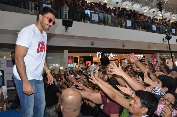 Ranveer Singh Launches Gap Store in Mumbai