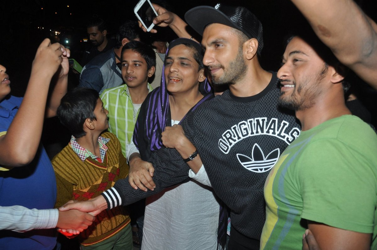 Ranveer Singh Snapped Outside Zoya Akhtars House