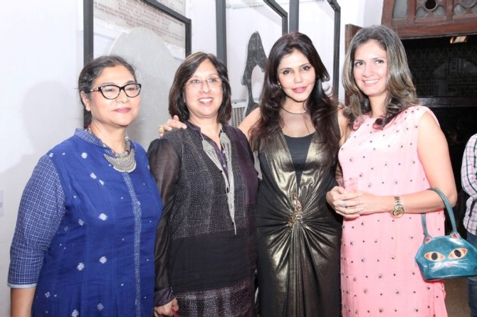 Raveena Tandon at The Announcement of The Third Edition of GoodHomes for Art