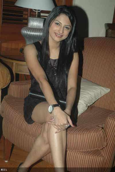 Rucha Hasabnis In Hot Black Dress