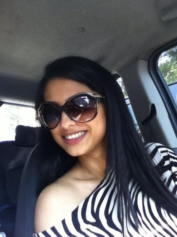 Rucha Hasabnis In Car Photo