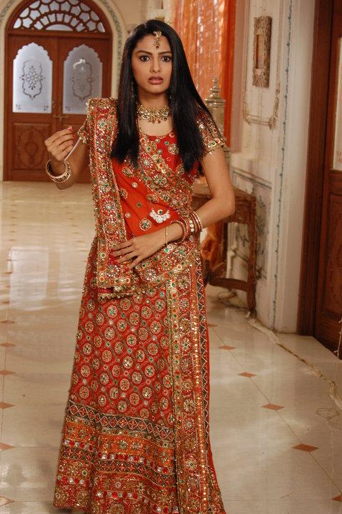 Rucha Hasabnis In Beautiful Dress