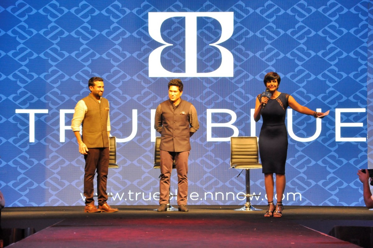 Sachin Tendulkar At Launch Of True Blue Store