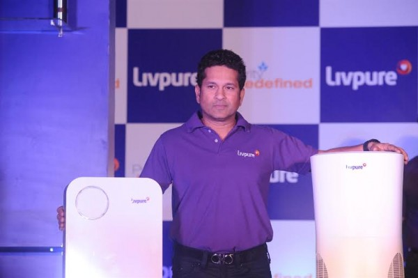Sachin Tendulkar Launches The New Smart Product Range of Livpure