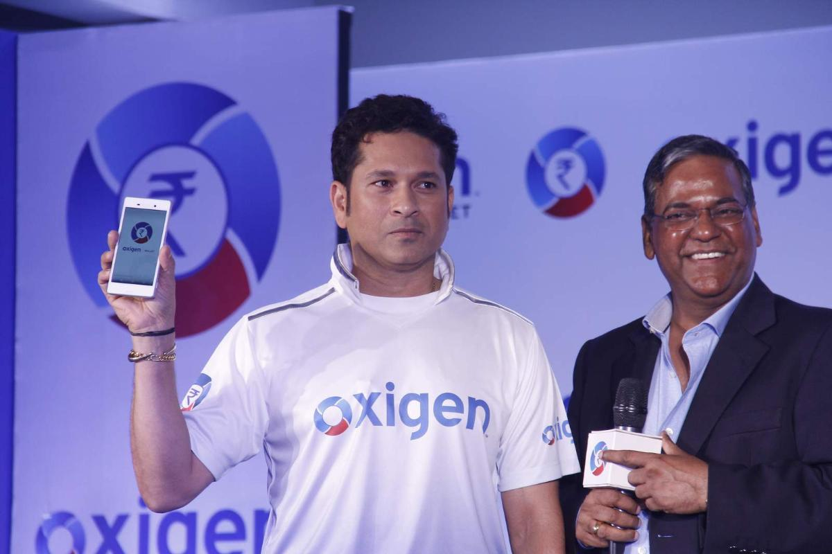Sachin Tendulkar at Oxygen Event