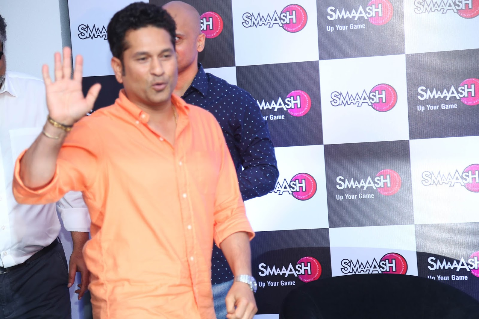 Sachin Tendulkar at Smaaash Launch Photo Gallery