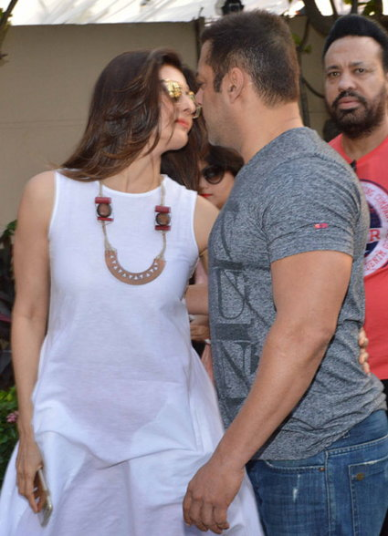 Salman Khan at His Sister Arpita Sharmas Baby Shower