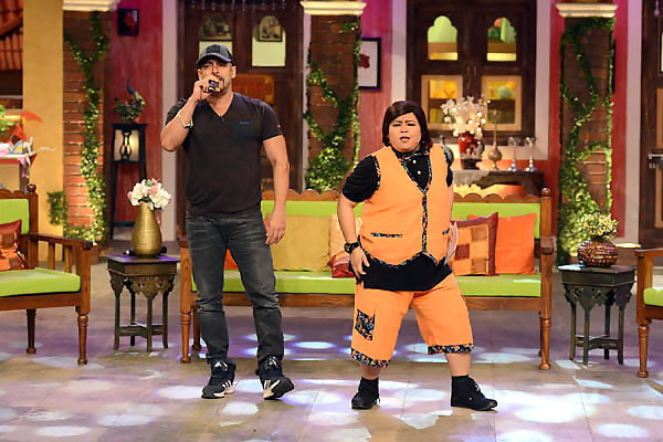 Salman Khan Promoted Sultan Movie at Comedy Nights Live