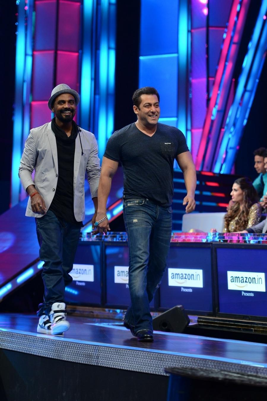 Salman Khan, Sooraj Pancholi & Athiya Shetty On The Sets Of Dance PlUS