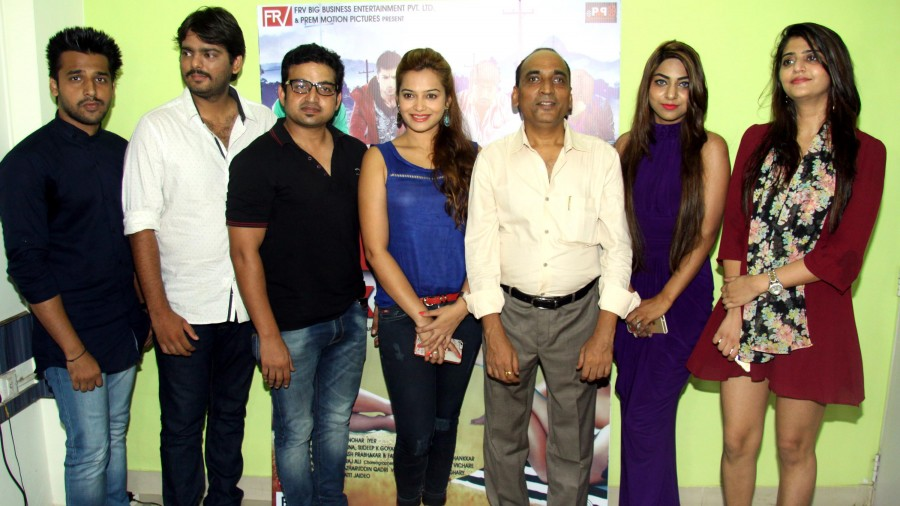 Samiksha Bhatnagar and Rishank Tiwari at Love ke Funday Teaser Launch Event