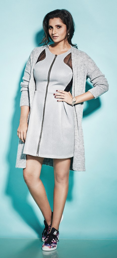 Sania Mirza Photoshoot for The Juice Magazine October 2015