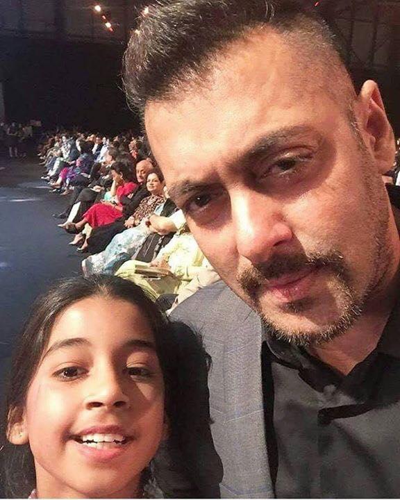 Salman Khan with Fan