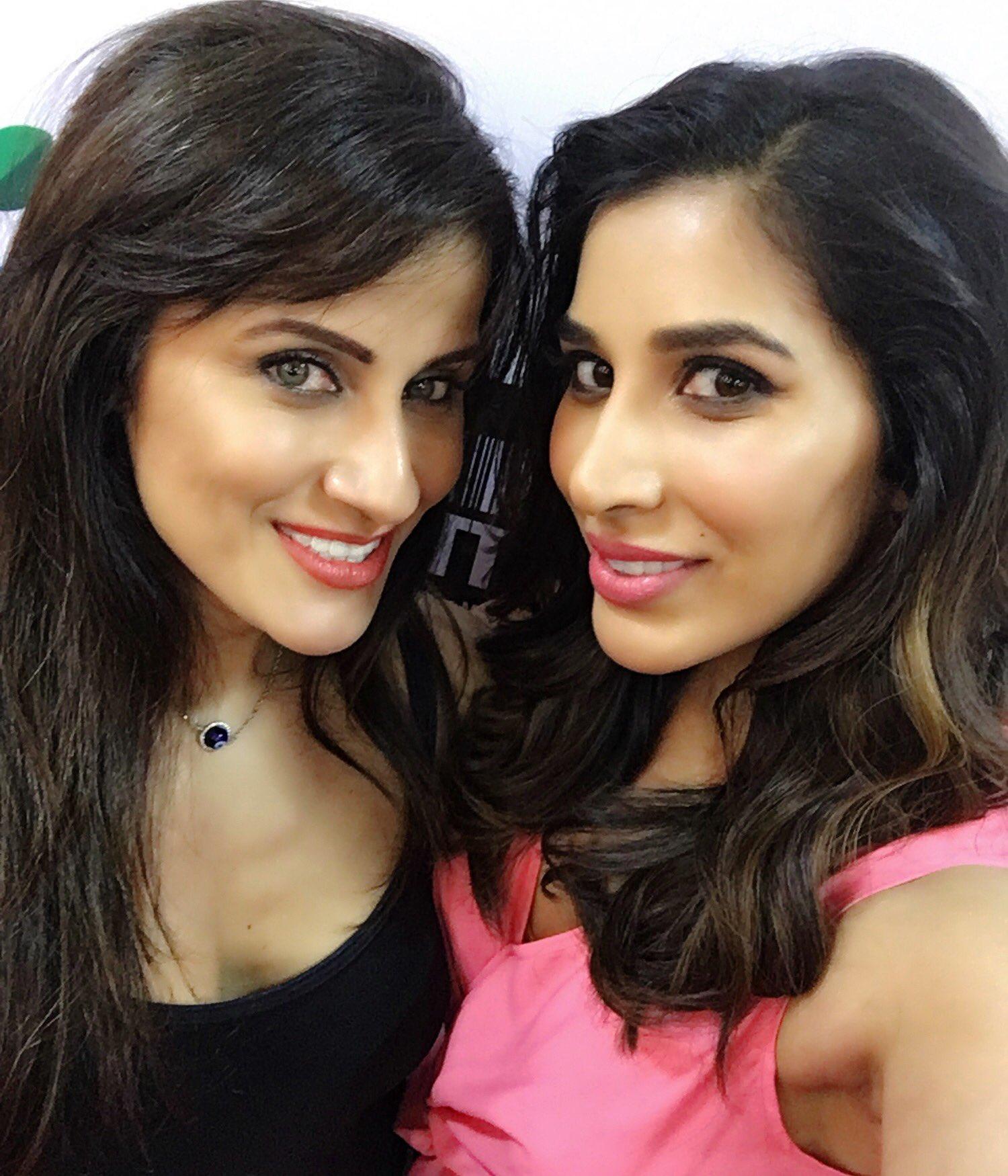 Yasmin Karachiwala with Sophie Choudry