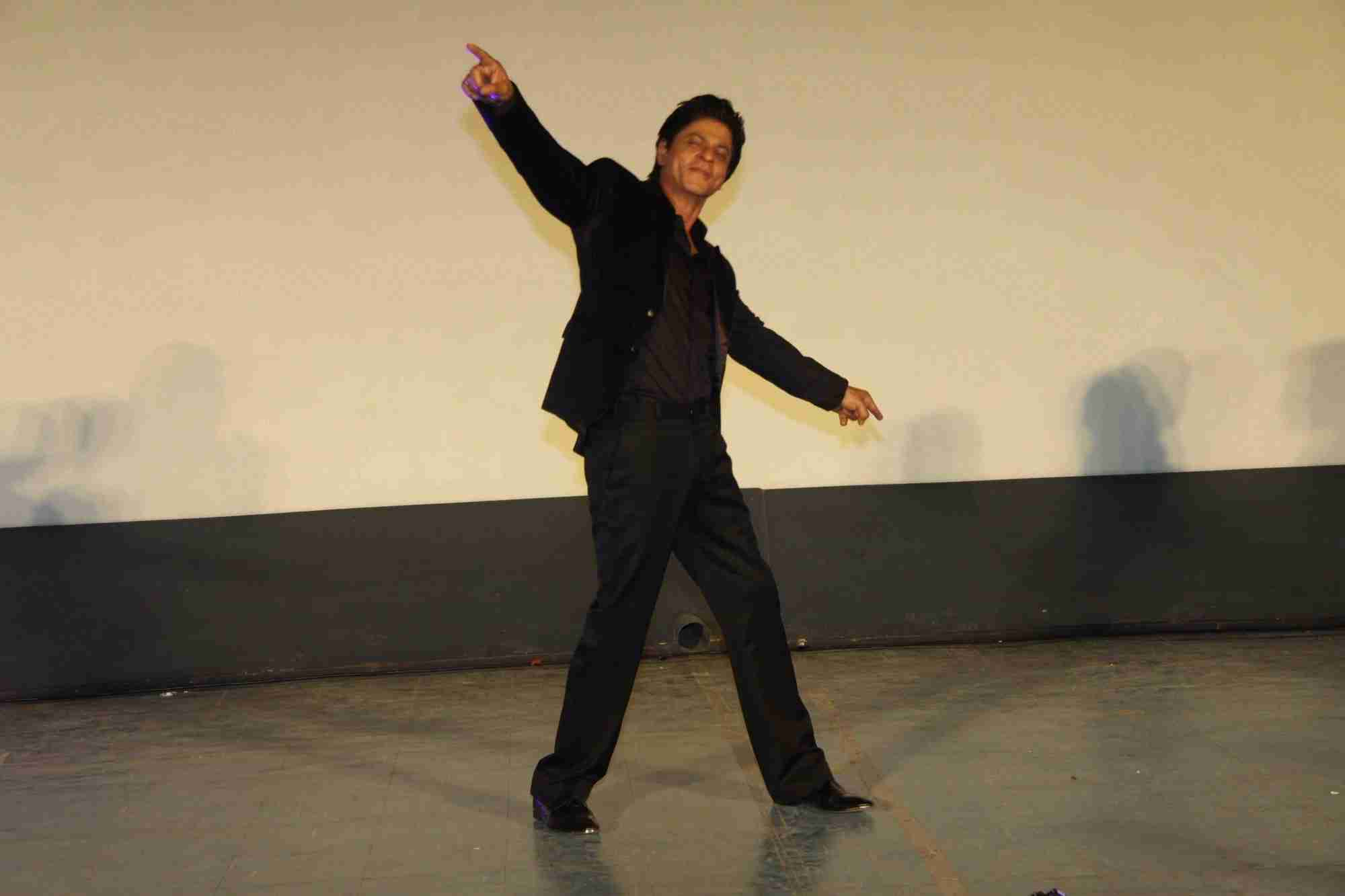 Shah Rukh Khan and Kajol at Song Launch of Film Dilwale in Mumbai-100