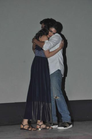 Shah Rukh Khan and Kajol at Song Launch of Film Dilwale in Mumbai-39