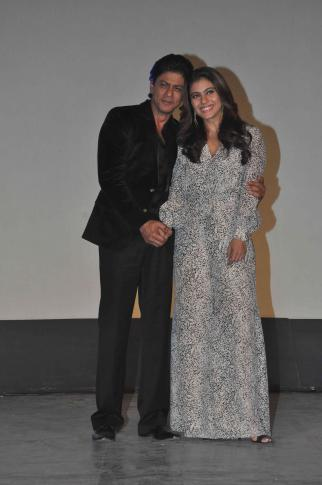 Shah Rukh Khan and Kajol at Song Launch of Film Dilwale in Mumbai-43