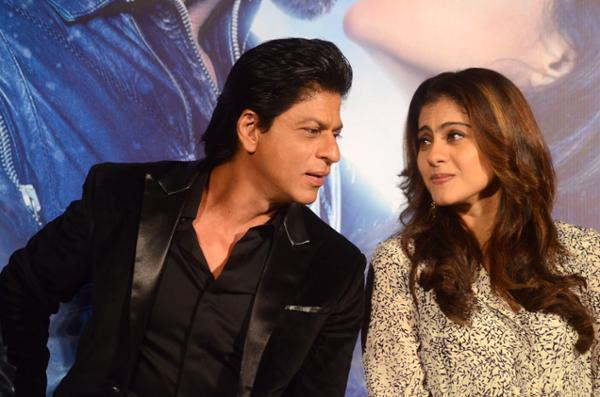 Shah Rukh Khan and Kajol at Song Launch of Film Dilwale in Mumbai-69