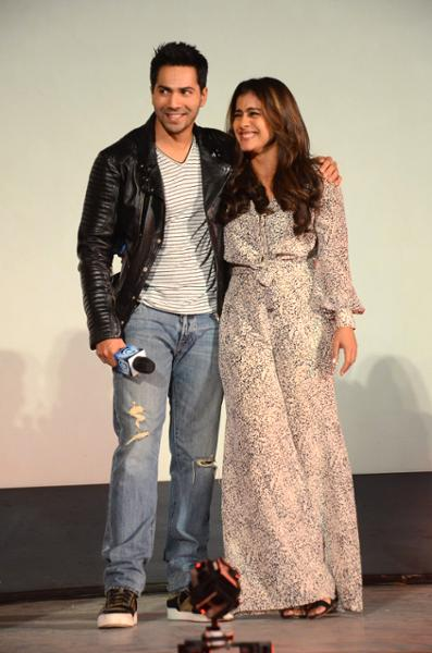 Shah Rukh Khan and Kajol at Song Launch of Film Dilwale in Mumbai-80