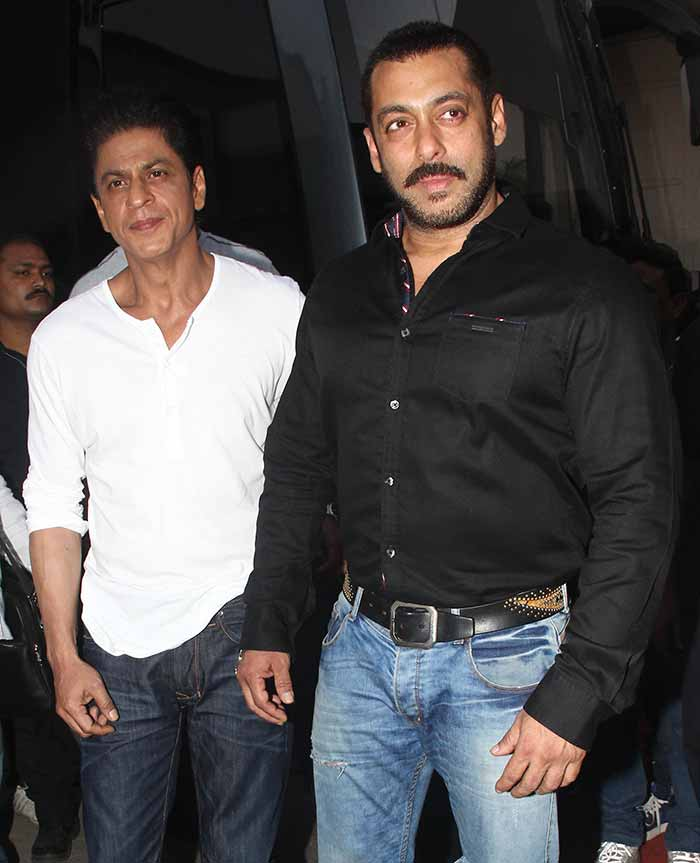 Shah Rukh Khan and Salman at Mehboob Studio-10