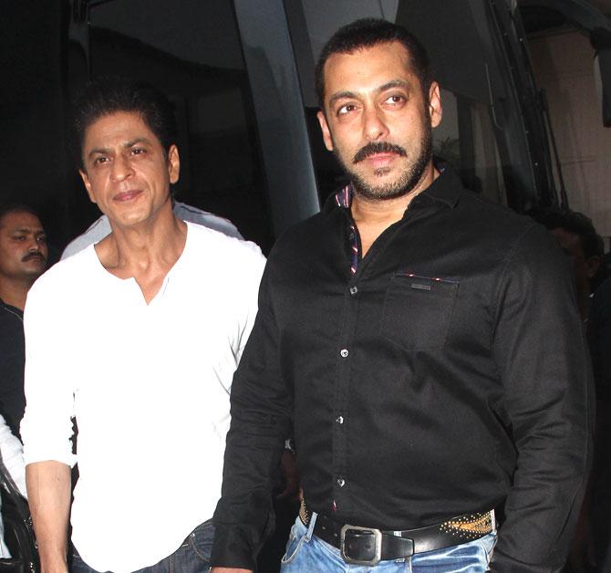 Shah Rukh Khan and Salman at Mehboob Studio-18