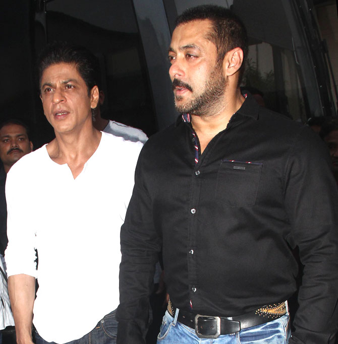 Shah Rukh Khan and Salman at Mehboob Studio-20