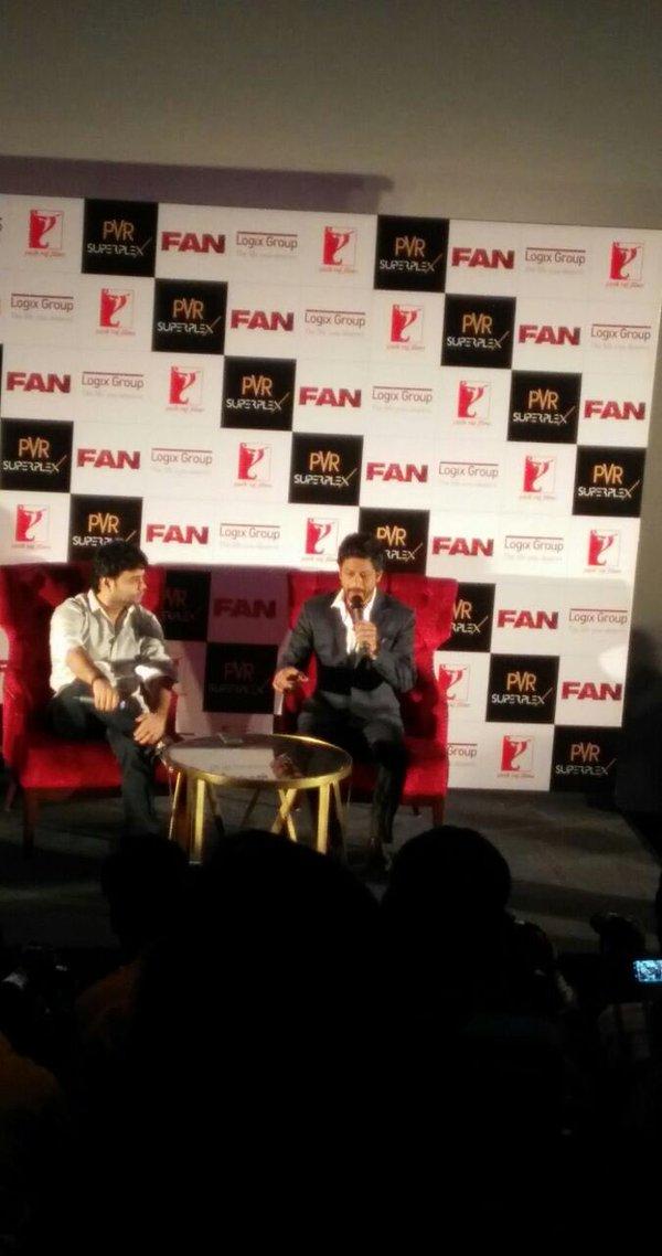 Shah Rukh Khan Promos FAN Movie in Delhi-03