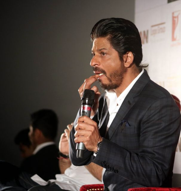 Shah Rukh Khan Promos FAN Movie in Delhi-06