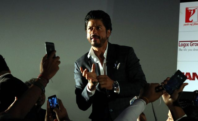 Shah Rukh Khan Promos FAN Movie in Delhi-07