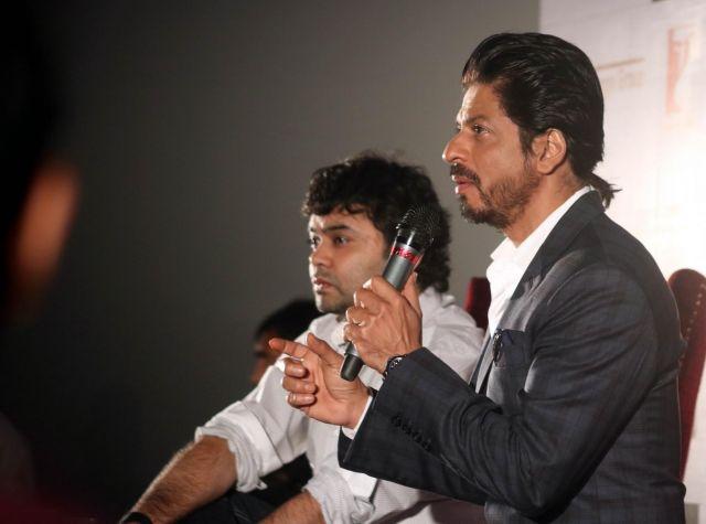 Shah Rukh Khan Promos FAN Movie in Delhi-09