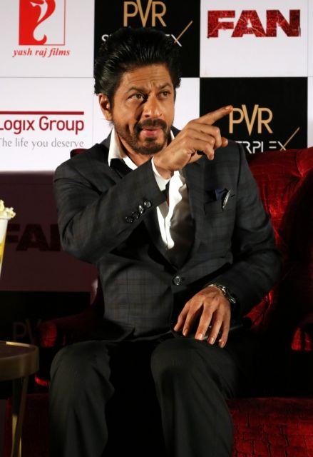 Shah Rukh Khan Promos FAN Movie in Delhi-18