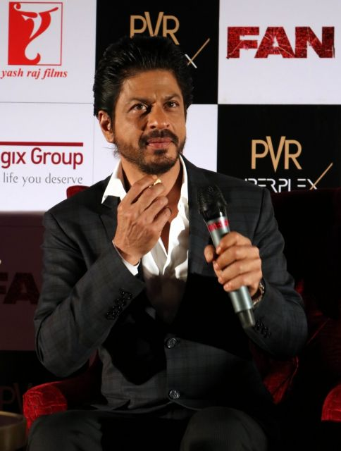 Shah Rukh Khan Promos FAN Movie in Delhi-22