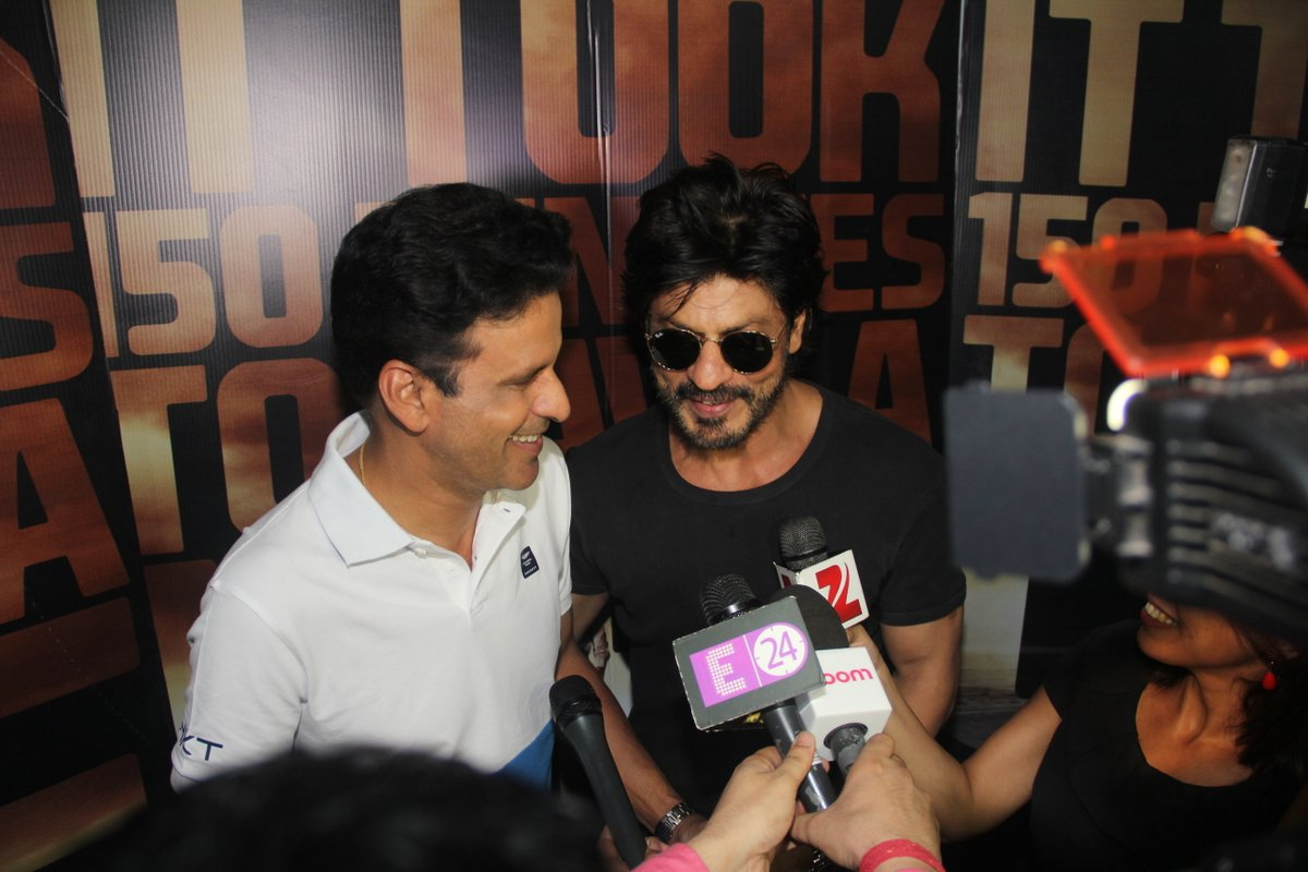 Shah Rukh Khan Promotion of Manoj Bajpayees Traffic Movie