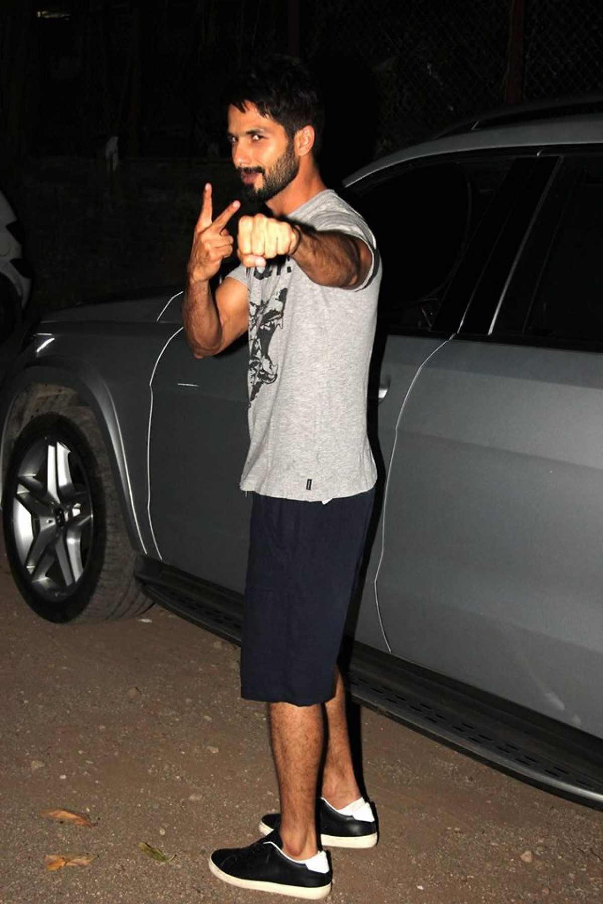 Shahid Kapoor Spotted at Mehboob Studio
