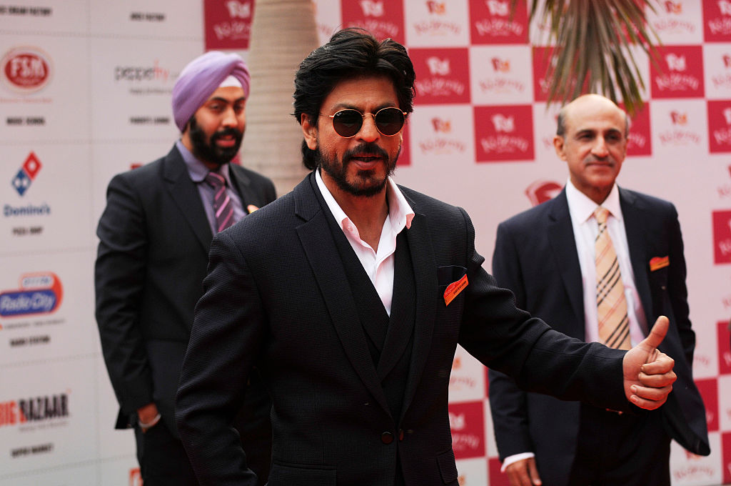 Shahrukh Khan Launches New Shopping Mall in Noida