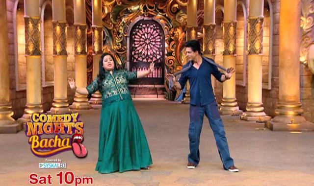 Shahrukh Khan on the set of Comedy Nights Bachao-14