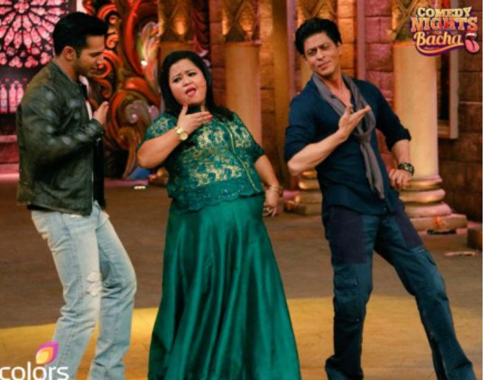 Shahrukh Khan on the set of Comedy Nights Bachao-26