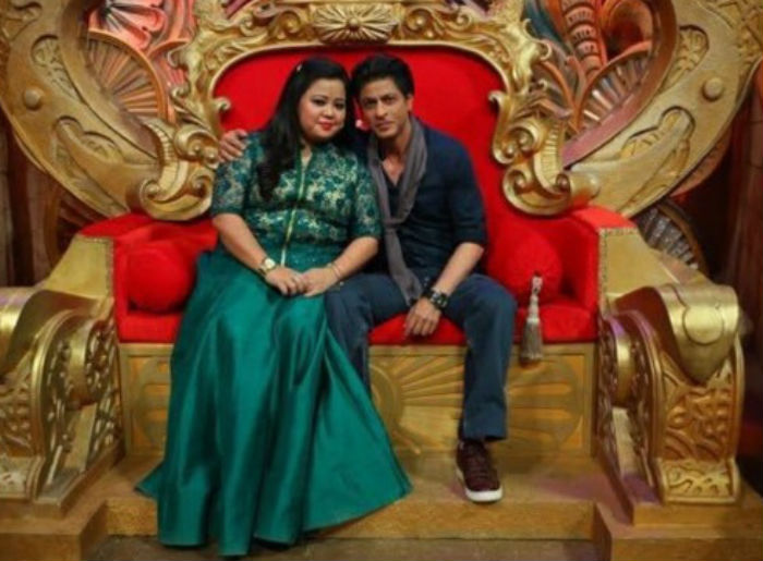 Shahrukh Khan on the set of Comedy Nights Bachao-27