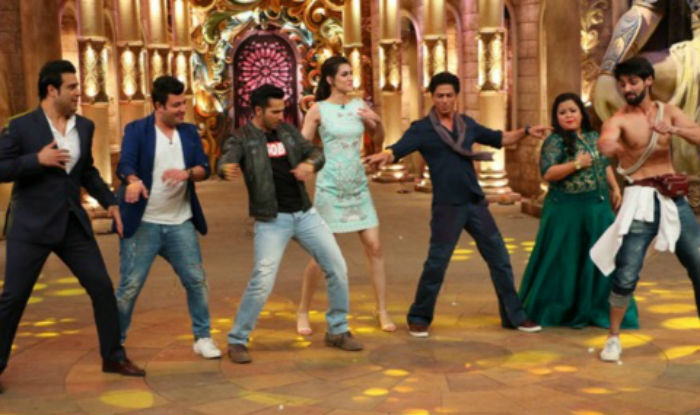 Shahrukh Khan on the set of Comedy Nights Bachao-29