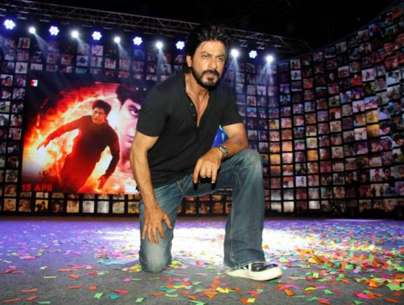 Shahrukh Khan Trailer Launch of film Fan-01