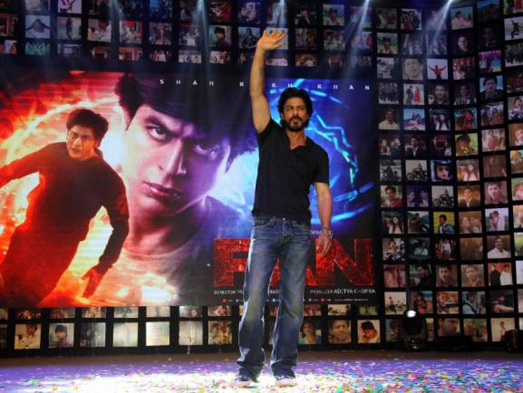 Shahrukh Khan Trailer Launch of film Fan-02
