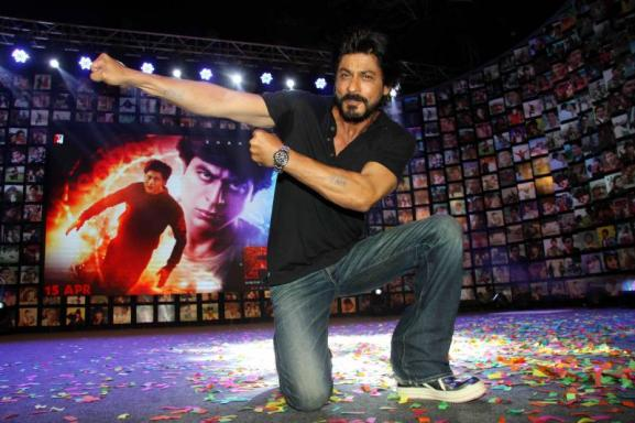 Shahrukh Khan Trailer Launch of film Fan-07
