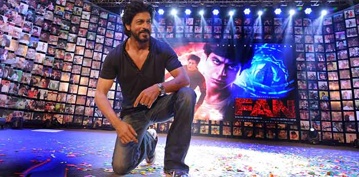Shahrukh Khan Trailer Launch of film Fan-101