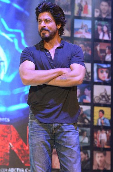Shahrukh Khan Trailer Launch of film Fan-12